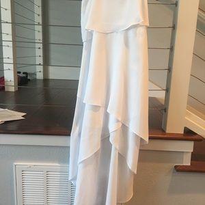 Gorgeous white BCBG Paris dress